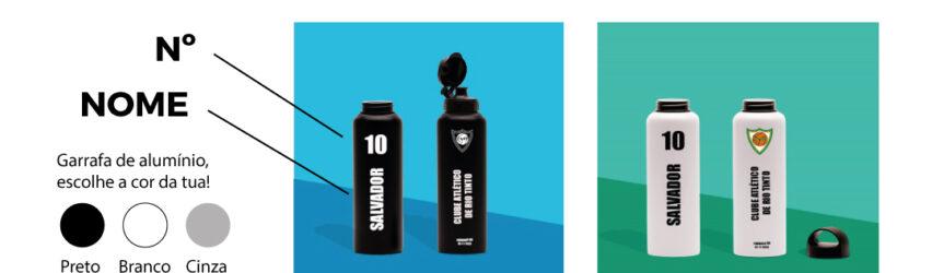 Adquire e personaliza a tua garrafa!